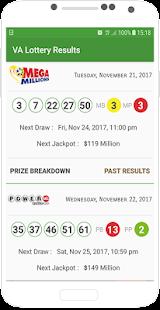 VA Lottery Results - náhled