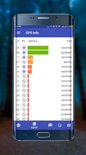 GPS info premium +glonass - náhled