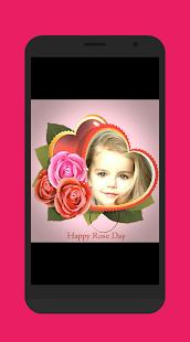 Rose Day Photo Frames 2018 - náhled