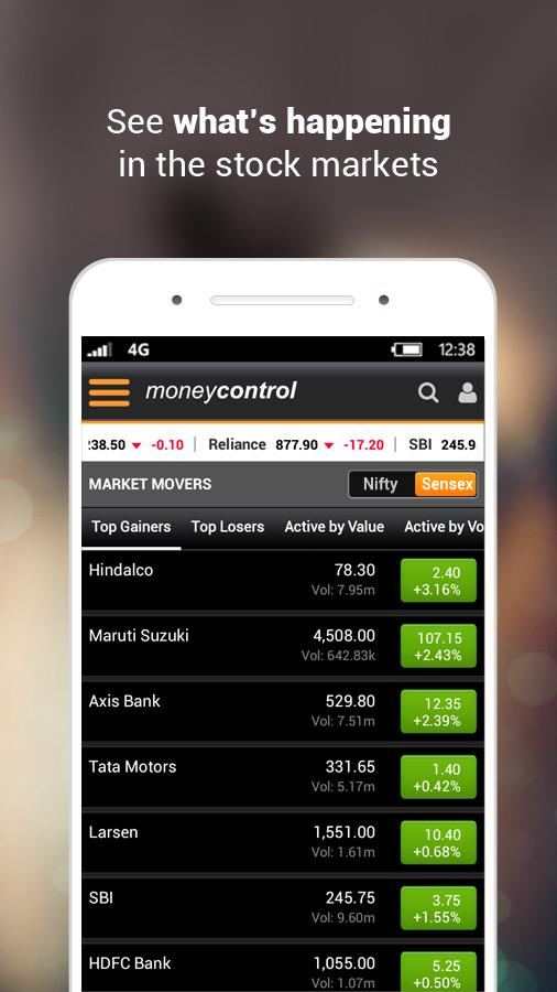 Moneycontrol Markets on Mobile- screenshot