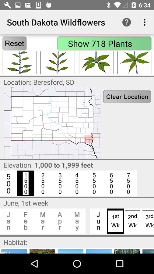 South Dakota Wildflowers- screenshot