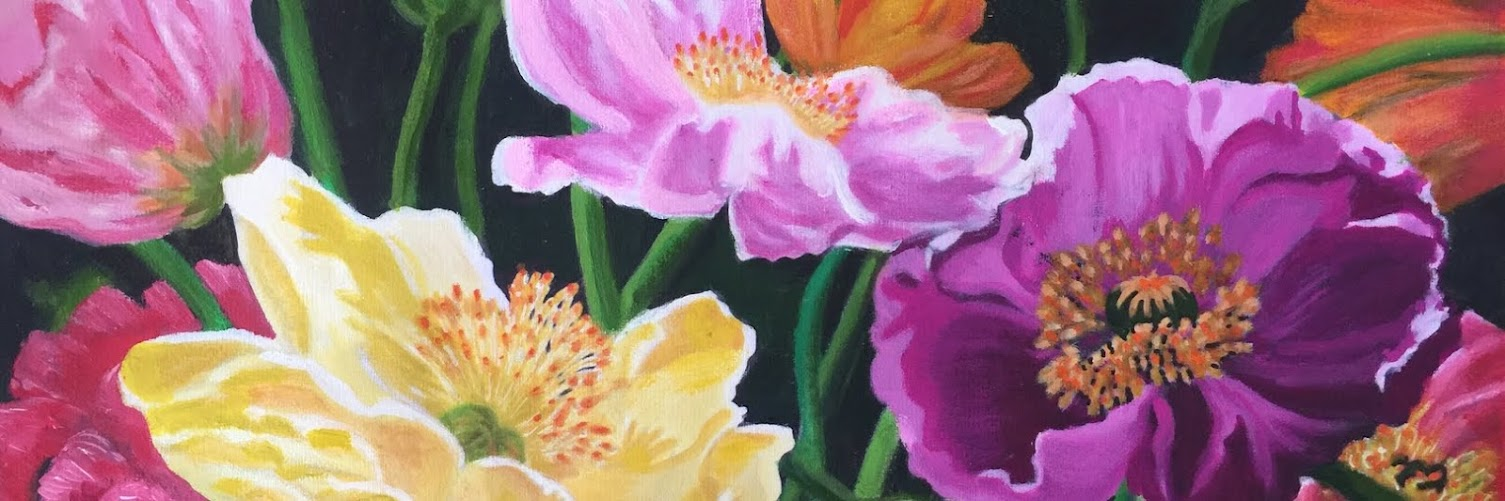 Close Focus Flower Painting Workshop