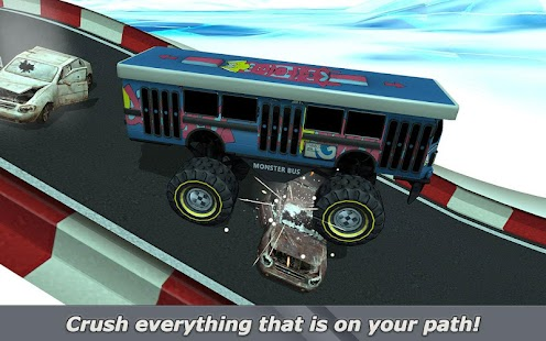Crazy Monster Bus Stunt Race 2