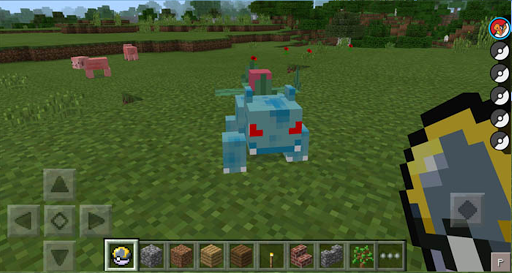 Craft Pixelmon GO mod PE 2017 1.1 Screenshots 2