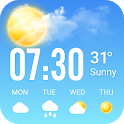 The weather timeline & weather - graphs & radar icon