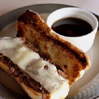 Summer Crock Pot French Dip Sandwiches.