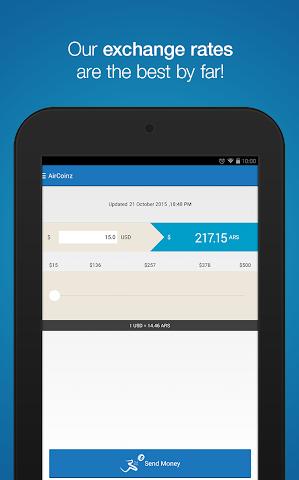 android AirCoinz Screenshot 10