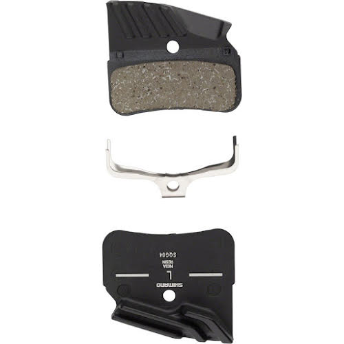 Shimano N03A Finned Resin Disc Brake Pad with Spring