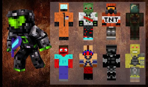 скины на майнкрафт мутанта #11