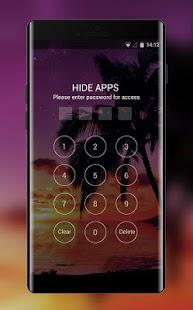 Theme for Nokia Lumia Icon Sunset Beach Wallpaper - náhled