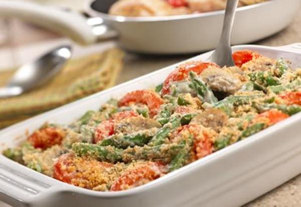 Garlicky Green Bean Casserole Recipe