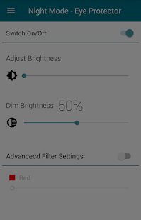 Night Mode + Eye Protector - náhled
