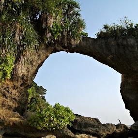 natural bridge...!!! by Pratik Nandy - Landscapes Mountains & Hills