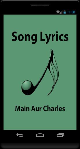 Lyrics of Main Aur Charles