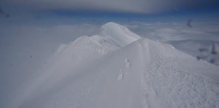 Photo: View on East Summit from Main Summit.