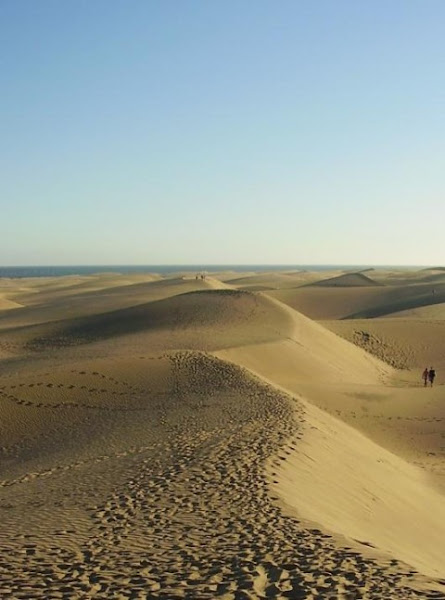 Photo: Dunes of Maspalomas - Gran Canaria
