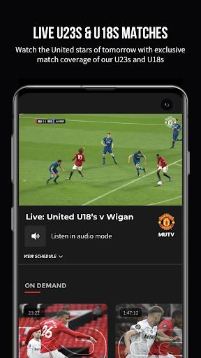 MUTV u2013 Manchester United TV 2.9.0 screenshots 4