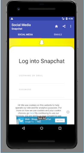 Popular Social media and Emails 1.0.0.4.0 screenshots 5