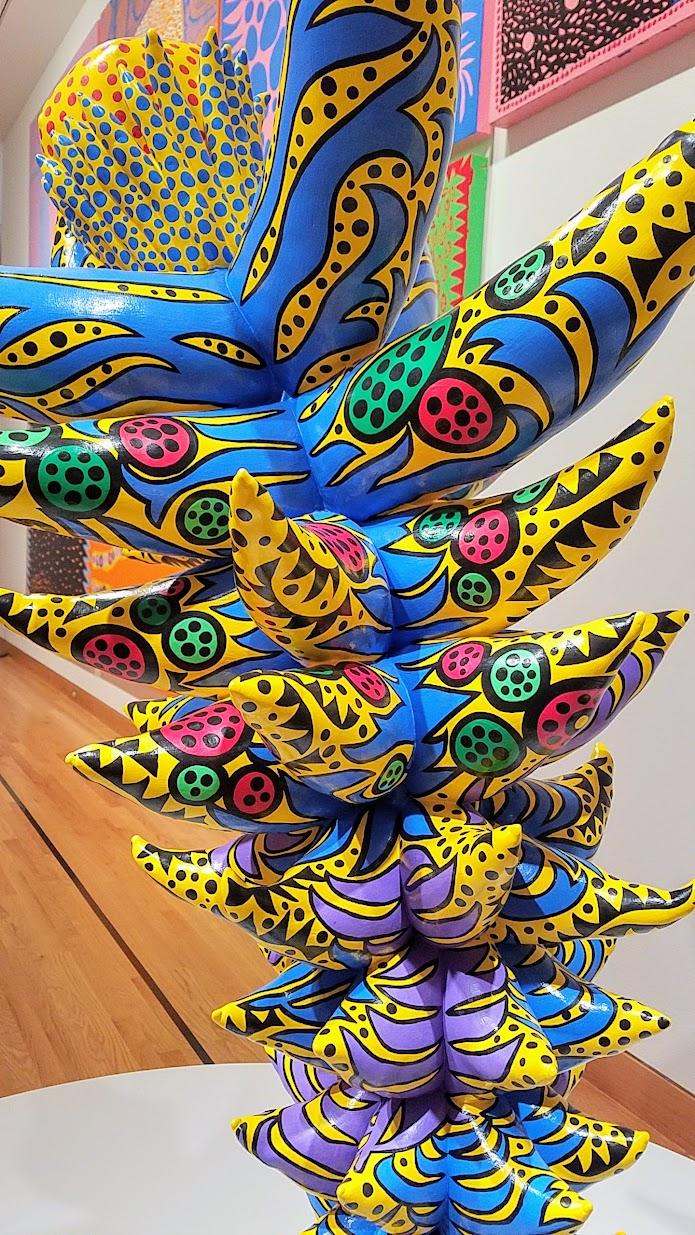 Top page gt gt infinite -  Visiting Yayoi Kusama Infinity Mirrors At Seattle Art Museum Yayoi Kusama My Eternal Soul