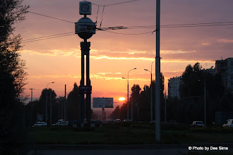 Photo: Day 171 -  Sunset Picture  in Dashanbe