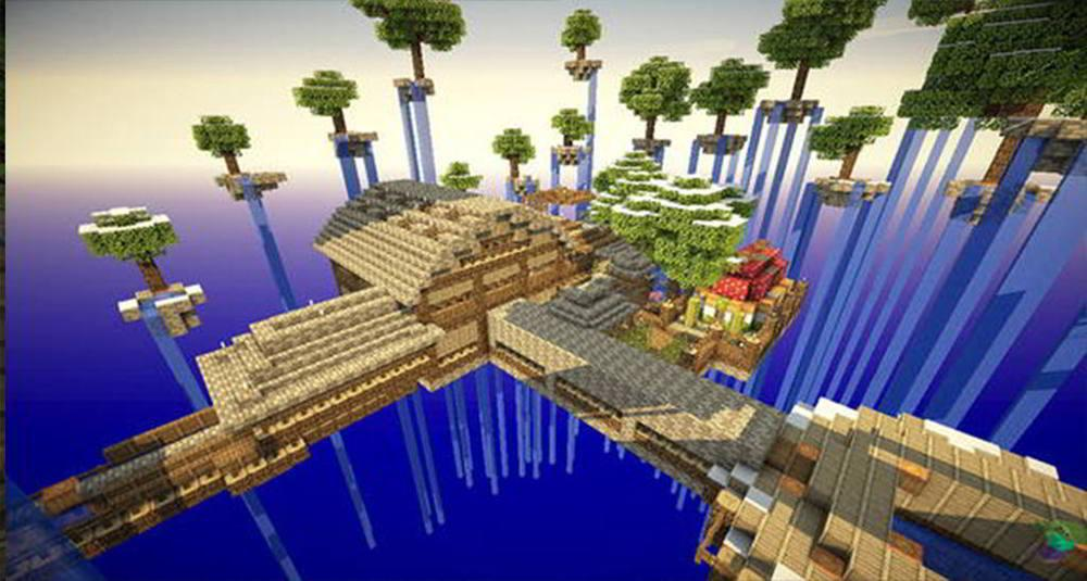 Sky Block 2 Minecraft Map Android Apps On Google Play