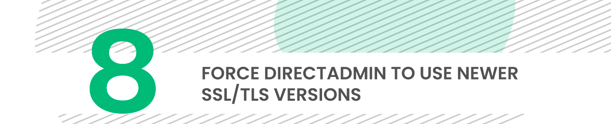 directadmin security tip 8 ssl