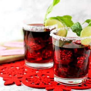 Pomegranate Mint Margarita Recipe