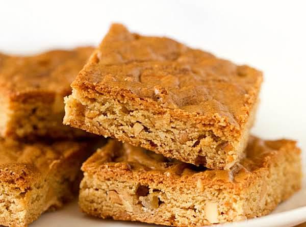 Peanut Butter Blondies Recipe
