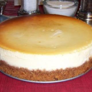 New York Style Cheesecake.
