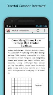 Download Rumus Matematika SD Lengkap APK