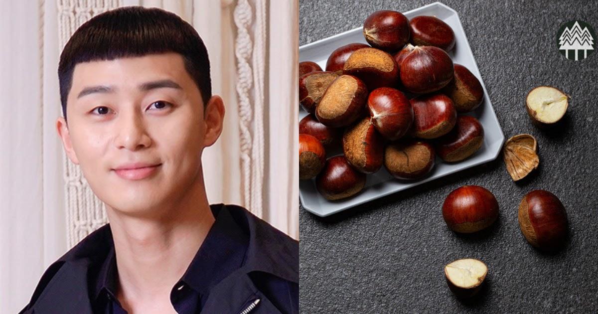 park seo joon chestnut hair