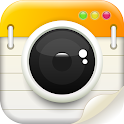 Note cam lite with Geo tagging & timestamp camera icon