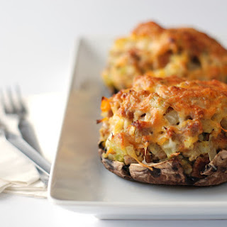 Glorious Stuffed Portobello Mushrooms