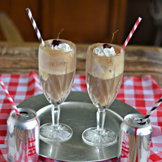 Celebrate the End of the School Year with Diet Coke Float Cocktails!