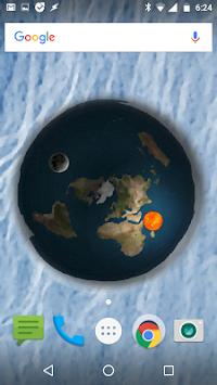 Flat Earth Sun & Moon Live Wallpaper (Ice Edition) APK Latest