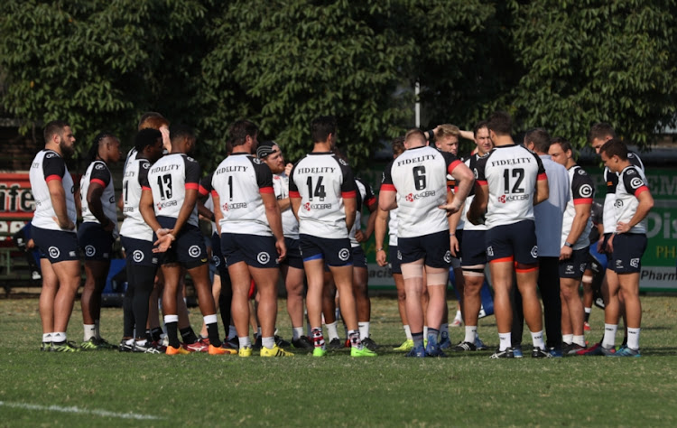 General views during the Cell C Sharks training session at Growthpoint Kings Park on July 11, 2017 in Durban, South Africa.