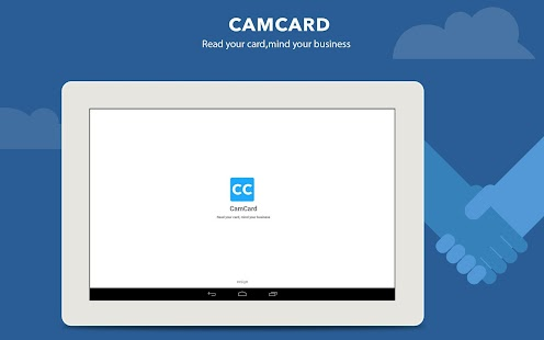 CamCard - Business Card Reader Screenshot