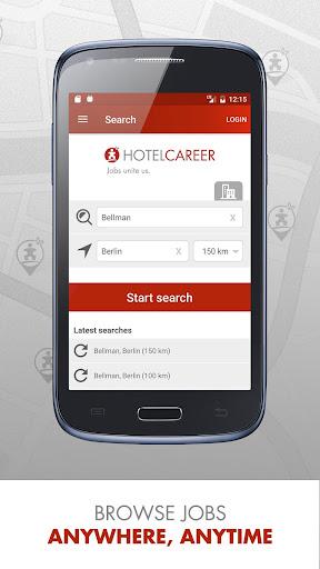 Hotel Jobs - HOTELCAREER 4.7 screenshots 1