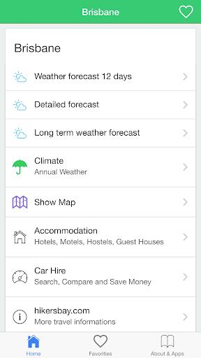 布里斯班天气预报与气候