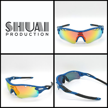 會員HK$399(Blue/Black) SHUAI Polarized Sunglasses
