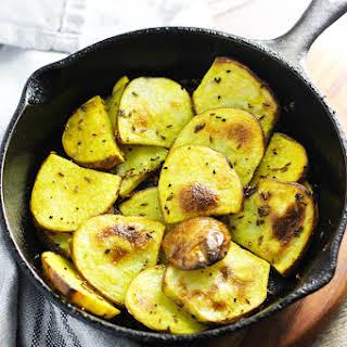 Indian 5 Spice Potatoes, Panch Phoran.