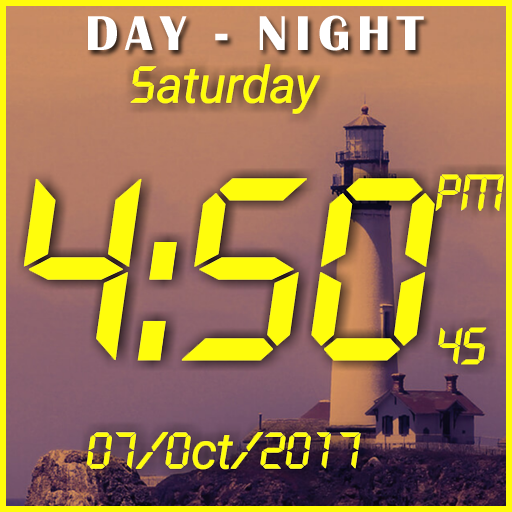 Day night changing clock live wallpaper file APK for Gaming PC/PS3/PS4 Smart TV
