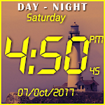 Day night changing clock live wallpaper Apk Download Free for PC, smart TV