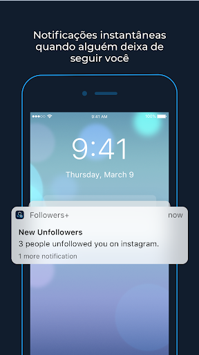 Followers+ Análise de seguidores para Instagram Screen Shot