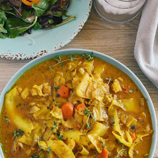 Curry Cabbage.
