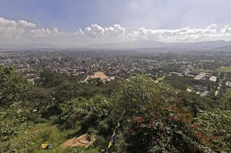 Photo: Blick von Swayambunath über Karhmandu