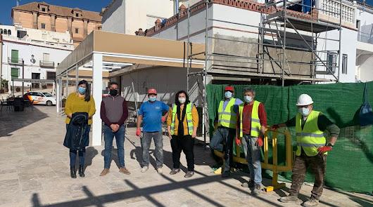 El PFEA moderniza infraestructuras en Berja y Laujar