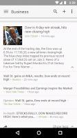 Screenshot of Google News & Weather