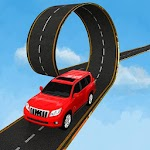Prado Car Stunt Racing On Impossible Tracks Icon