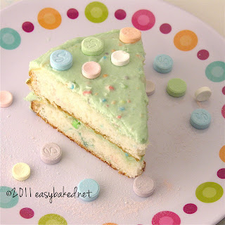 Sweet Tart and Pixy Stix Cake!